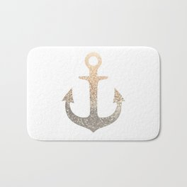 GOLD ANCHOR Bath Mat