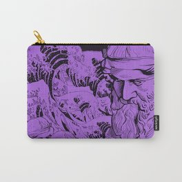 Bermuda (purple) Carry-All Pouch