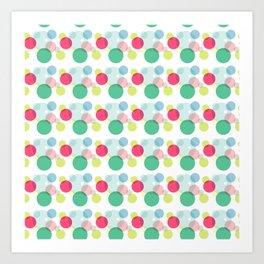 ColorBubble Art Print