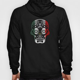 Mexican Design Mexican Flag Design For Mexican Pride Skull Clean Hoody