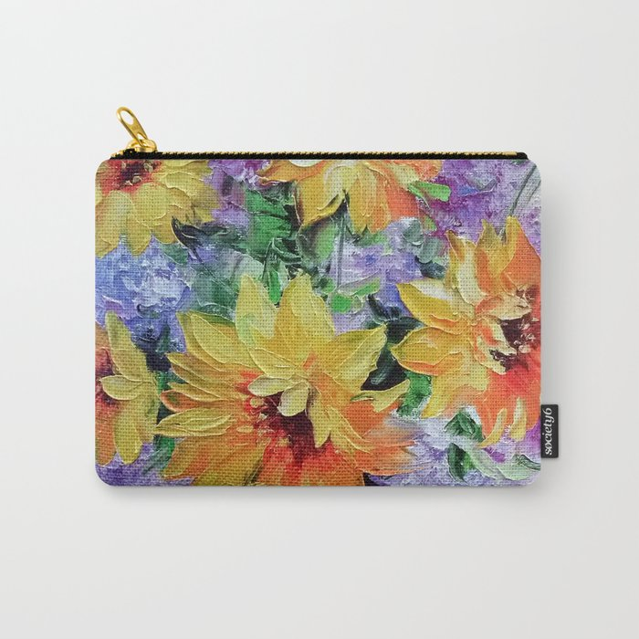 Bouquet of sunflowers Carry-All Pouch