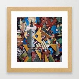 Kaotica 8 Framed Art Print