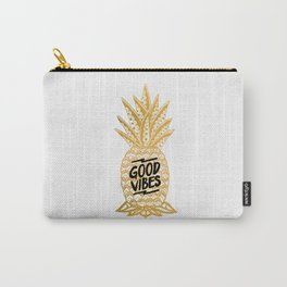 Good Vibes Ananas Carry-All Pouch