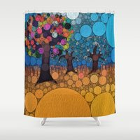 levi Shower Curtains featuring :: Jewel Tree :: by :: GaleStorm Artworks ::