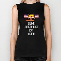 Make Ameowrica Cat Again Biker Tank