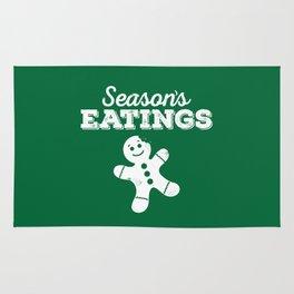 Season's Eatings (evergreen) Rug