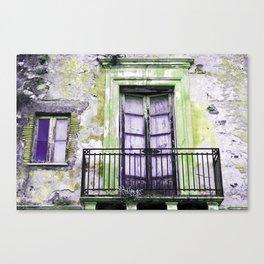 Facade - Taormina - Sicily Canvas Print