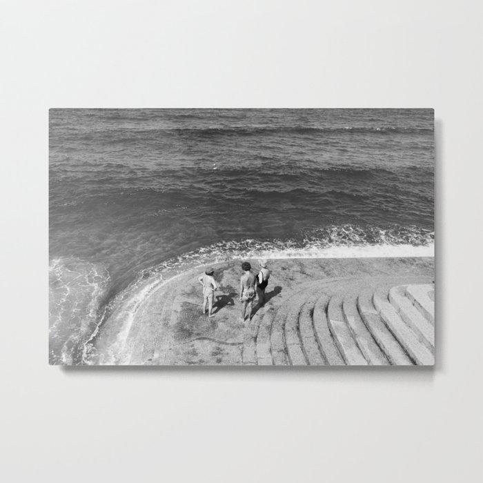 At the beach Metal Print