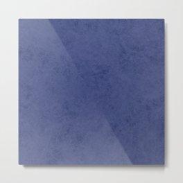 Blue suede Metal Print