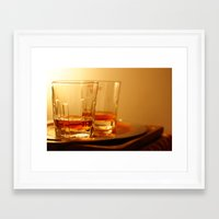 whiskey Framed Art Prints featuring Whiskey by Vishal Wadhwani