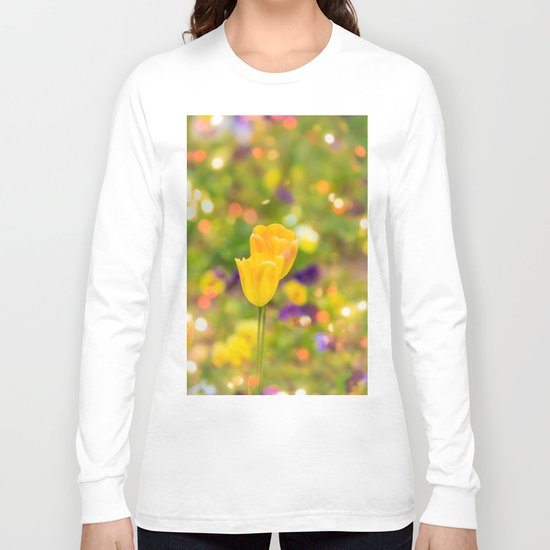 Valentine tulips Long Sleeve T-shirt