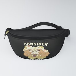 SLOTH CHESS Fanny Pack
