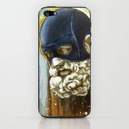 """Masked Hercules"" iPhone Skin"