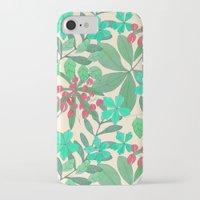 botanical iPhone & iPod Cases featuring Botanical by Louise Elizabeth