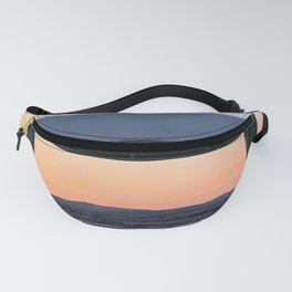 Picnic Table Winter Sunset Fanny Pack