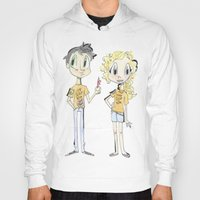 percy jackson Hoodies featuring Percy Jackson and Annabeth Chase by Trillatia
