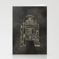 r2d2 Stationery Cards featuring R2D2 by LindseyCowley