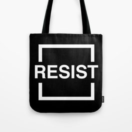 Resist 2 Tote Bag