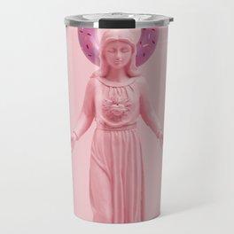 Pink religion Travel Mug