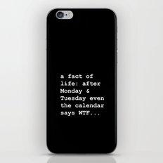 WTF iPhone & iPod Skin