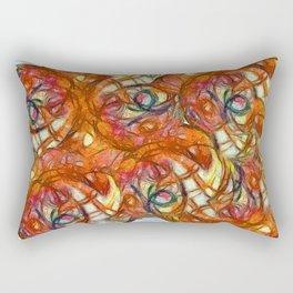 1000 Ojos mirando al cielo Rectangular Pillow