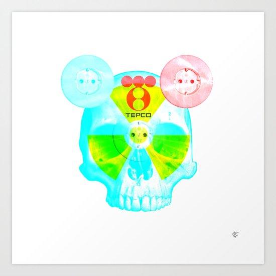 Fukushima - mon amour 2013 Art Print