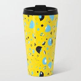Hannukats Yellow Travel Mug