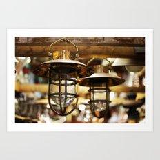 Brass  Art Print