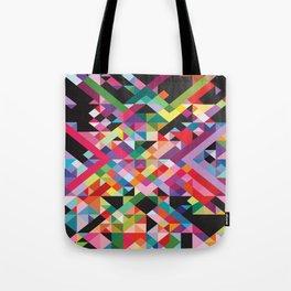 Geometric Kaos Tote Bag