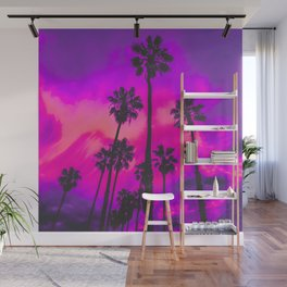 Aesthetic Palms Wall Mural