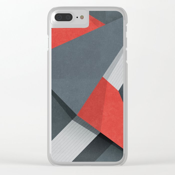Projections Clear iPhone Case