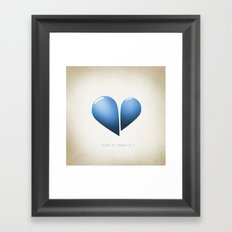 Song of Songs 8:7 Framed Art Print