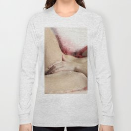 Lying On The Bed Long Sleeve T-shirt