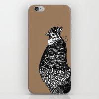 chicken iPhone & iPod Skins featuring Chicken  by Aubree Eisenwinter