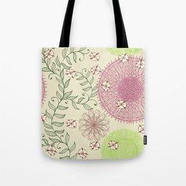 Hand Drawn Mandala Pattern 04 Tote Bag