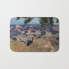 Battleship Rock, Grand Canyon NP, AZ -- Just after sunrise Bath Mat