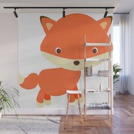 Cute Fox 2 Wall Mural