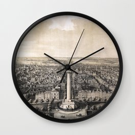 Baltimore - Maryland - 1862 Wall Clock