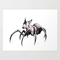 Spider-Dog Art Print