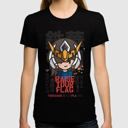 Mobile Suit Gundam - Barbatos Gunpla Girl T-shirt
