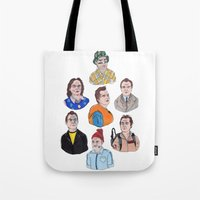 murray Tote Bags featuring Murray by scoobtoobins
