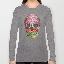 Navajo Skull  Long Sleeve T-shirt