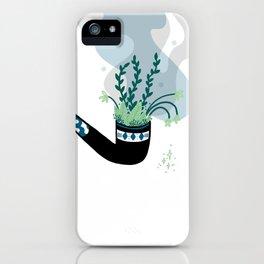 Garden pipe iPhone Case