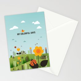My Colorful Days Stationery Cards