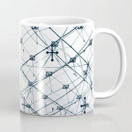 Underneath the Louvre Pyramid Coffee Mug