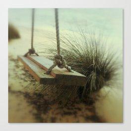 Beach Swing Canvas Print