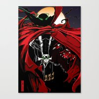 spawn Canvas Prints featuring Spawn by Shawn Norton Art