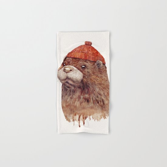 River Otter Hand & Bath Towel