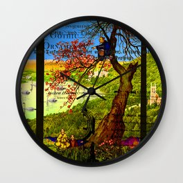 THE MAN IN THE TREE Wall Clock