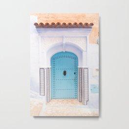Door No. 694, Morocco Metal Print